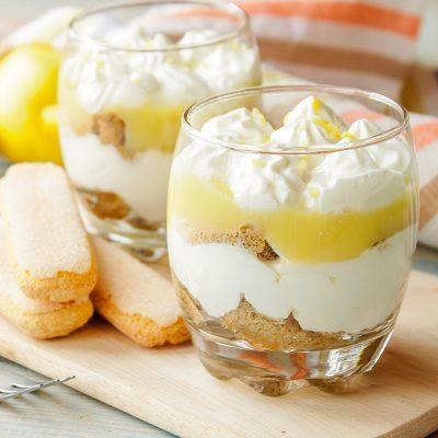 Lemon Curd Tiramisu